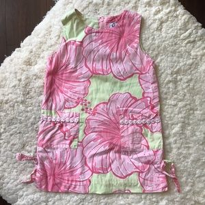 Lilly Pulitzer Shift Dress in Pink & Green